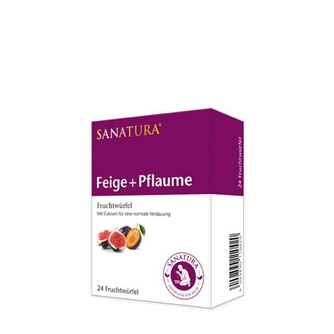 Sanatura Feige Pflaume Fruchtwürfel 24 Stk