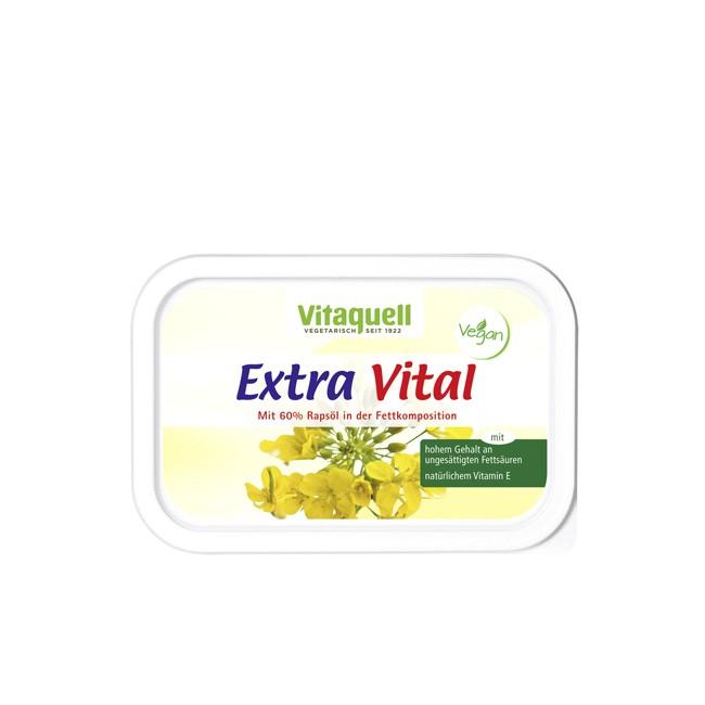 Vitaquell Extra Vital Pflanzen-Margarine vegan 250g