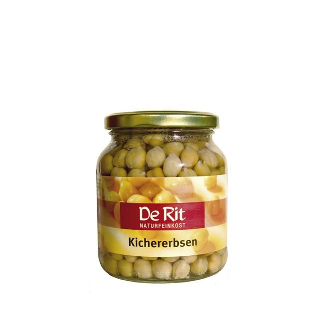 Bio Kichererbsen im Glas von De Rit (350g)