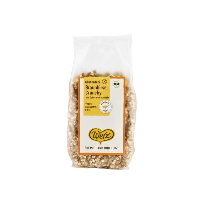 Werz Braunhirse Crunchy in Bio Qualität (250g)