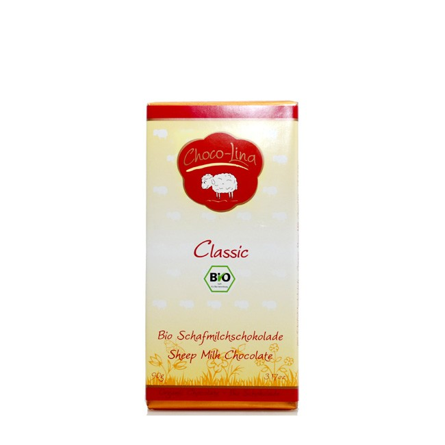 "ChocoLina : Bio Schafmilchschokolade ""Classic"" (90g)"