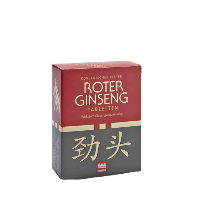 KGV Roter Ginseng Tabletten, bio 60 Stk