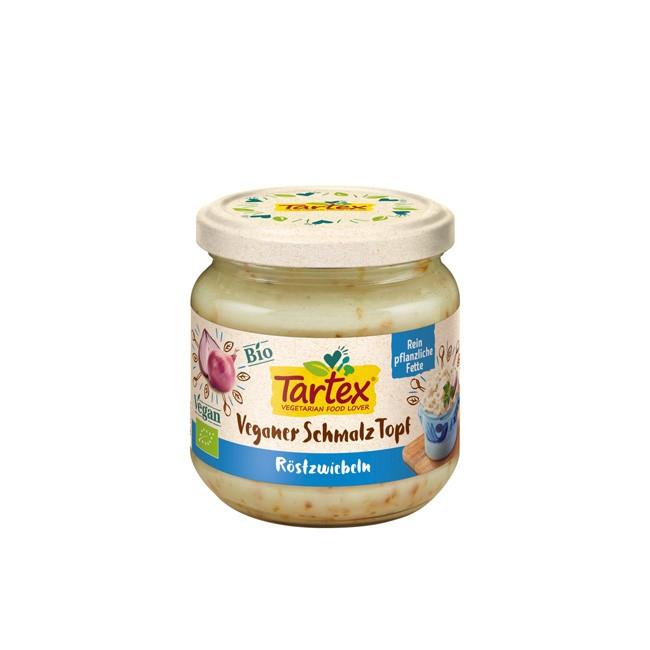 Tartex: veganer Schmalz Topf mit Röstzwiebeln 150g (BIO)