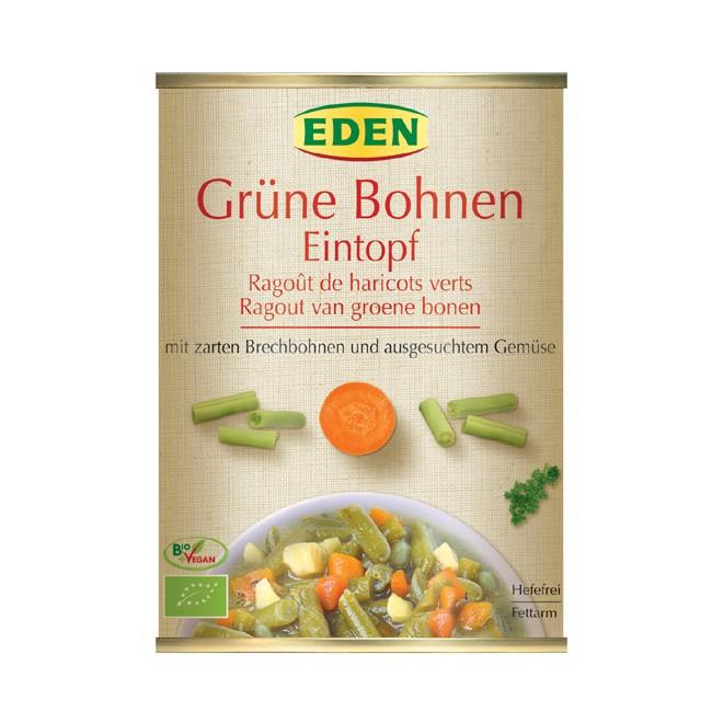 Veganer Grüne Bohneneintopf von Eden 560g