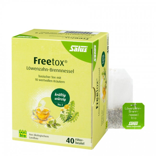 Salus Freetox Tee Löwenzahn-Brennnessel 40Beutel