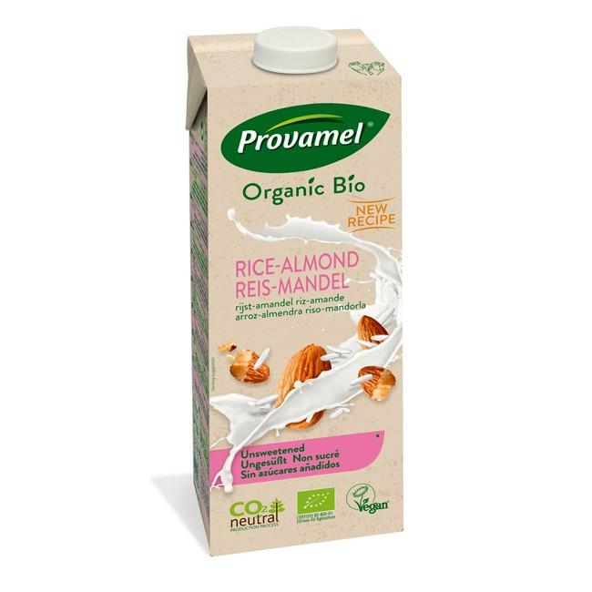 Bio Reis-Mandeldrink von Provamel im großen 1L Tetrapack - NEU ungesuesst