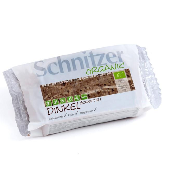 Bio Dinkelbrot geschnitten von Schnitzer 250g - veganes Vollkornbrot