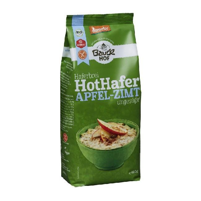 Glutenfreier Haferbrei mit Apfel und Zimt (400g) von Bauckhof