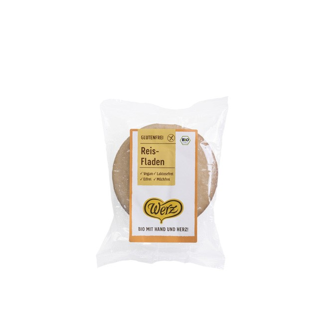 Werz Bio Reis Fladen (150g)