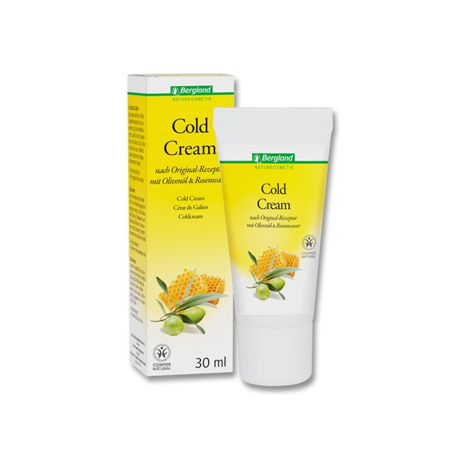 Bergland Cold Cream 30ml - Naturkosmetik ohne Duftstoffe