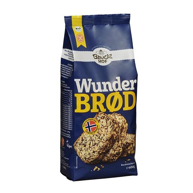 Glutenfreies Wunderbrod nach norwegischen Rezept von Bauckhof - 600g
