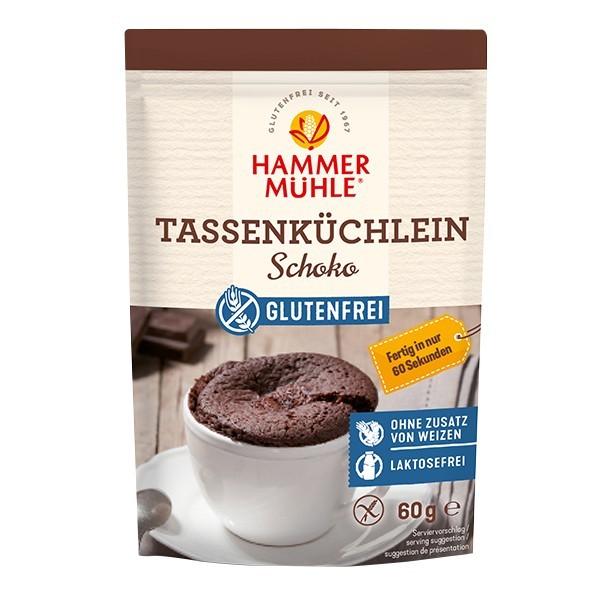 Hammermühle : Glutenfreie Mehlmischung Tassenküchlein Schoko (60g)