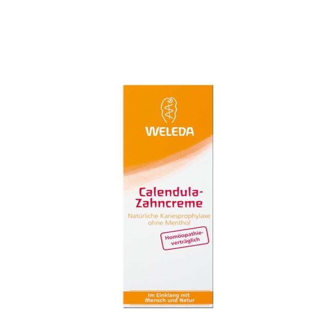 Weleda-Calendula-Zahncreme-Verpackung