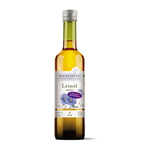 Bio Planete: Leinöl nativ (500ml)