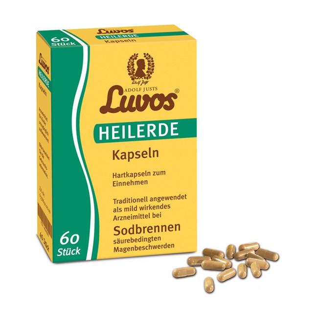 Heilerde Kapseln (60 Stück) - naturreiner Löss von LUVOS