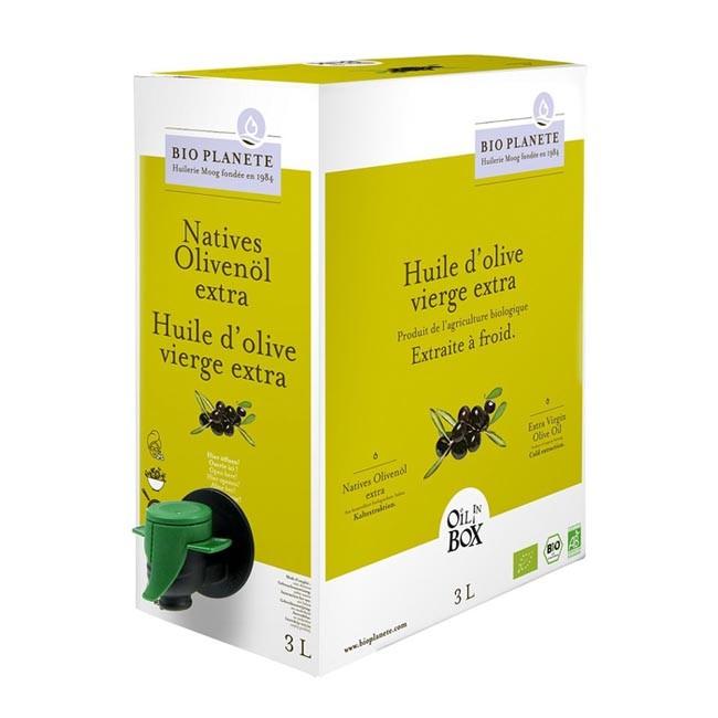 Bio Plenete: Olivenöl mild nativ extra Oil in Box 3L