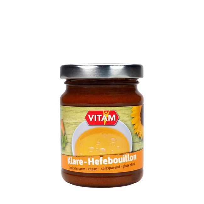 glutenfreier und veganer Hefeextrakt naturbelassene Klare Hefebrühe 175g