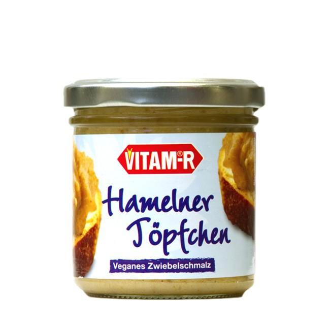 Hamelner Töpfchen veganes Zwiebelschmalz von VITAM 125g