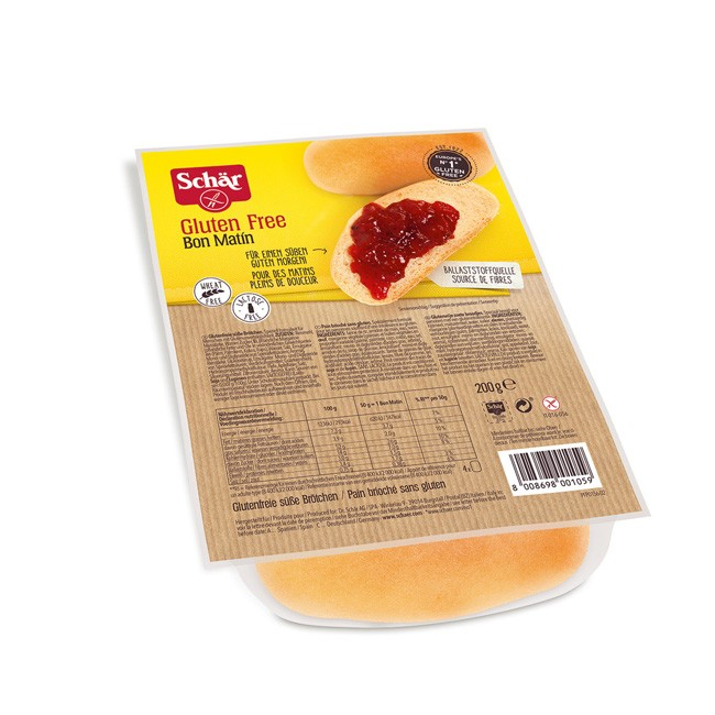 Dr.Schär süße Bon Matin Brötchen 200g Glutenfrei