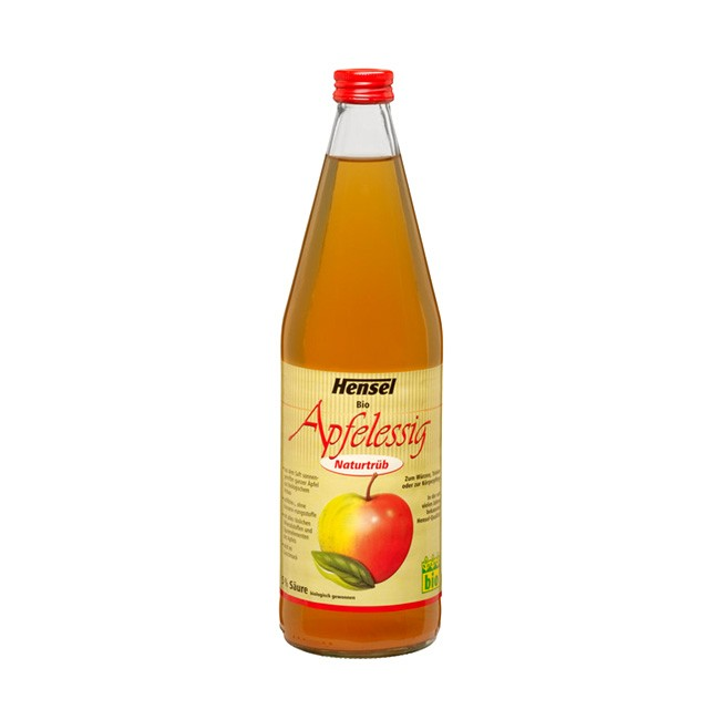 Natürtrüber Apfelessig von Hensel - Bio Qualität