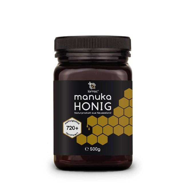 Neuseeländischer MANUKA Honig mit 720+ Spitzenwert im 500g Behälter