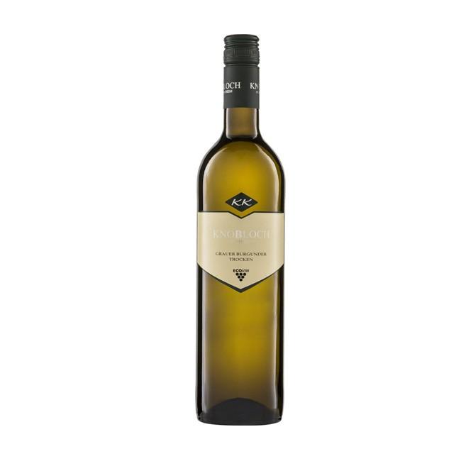 """Riegel Grauer Burgunder """"Gutswein"""" Knoblcoh bio Vegan 750ml mit feinrassigem und ausdrucksvollem Charakter deutscher Qualitäts Wein"""