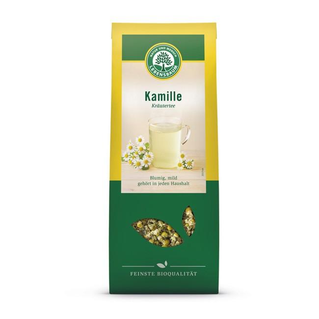 Blumiger Bio Kamille Tee von Lebensbaum (80g)
