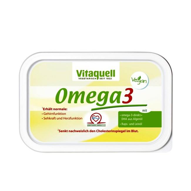 Omega3-Margarine Vitaquell Margarine 250g