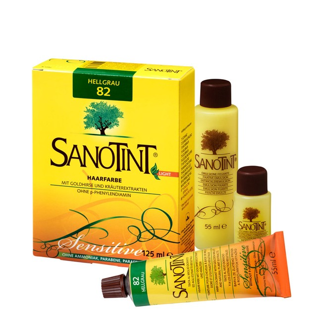 Sanotint : Sensitive Hellgrau - Nr. 81 (125ml)