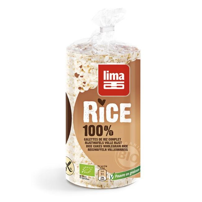 Gesalzene Reiswaffeln von LIMA -knusperfrisch