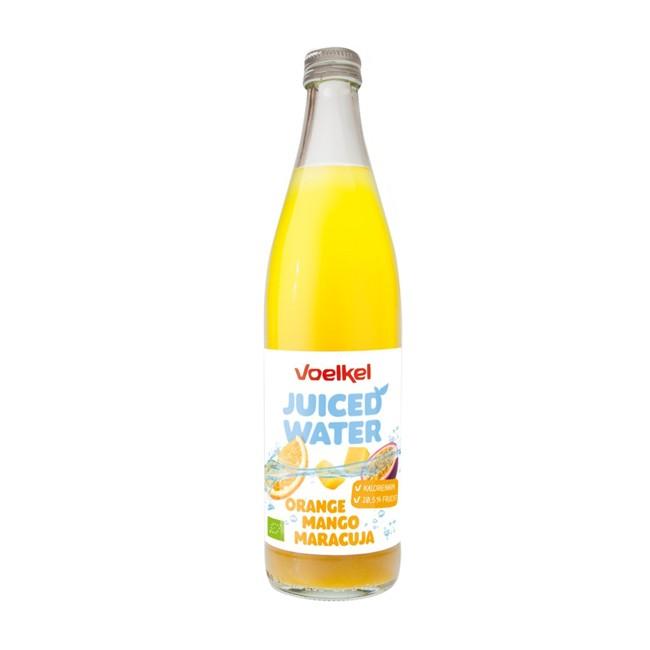 Voelkel Juiced Water Orange Mango Maracuja, bio 500ml
