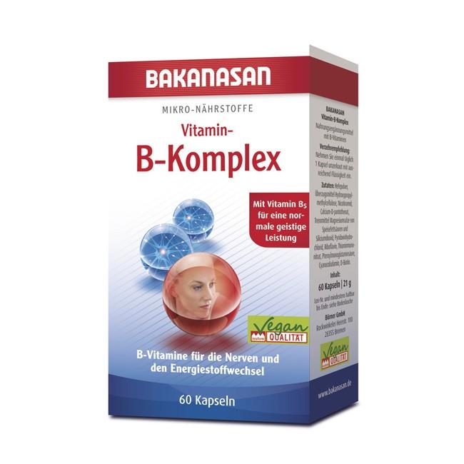Bakanasan Vitamin B Komplex (60 Kapseln)