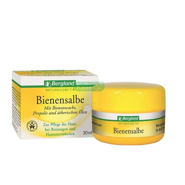 Bio Hautcreme Bienensalbe von Bergland 30ml