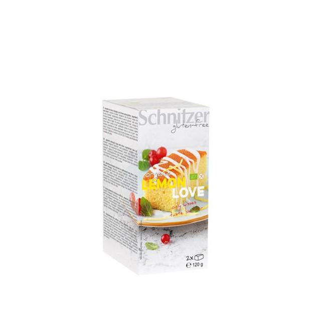 Schnitzer glutenfreies Lemon Love Feingeböck 120g bio