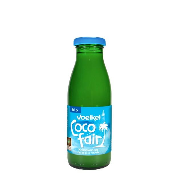 Voelkel Coco fair Bio Kokoswasser - basischer Genuss in 250ml