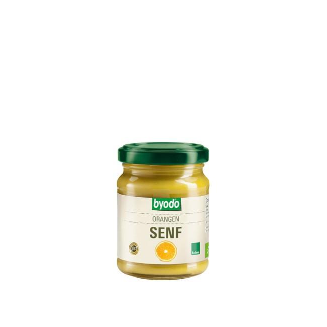 Bio Orangen-Senf von Byodo