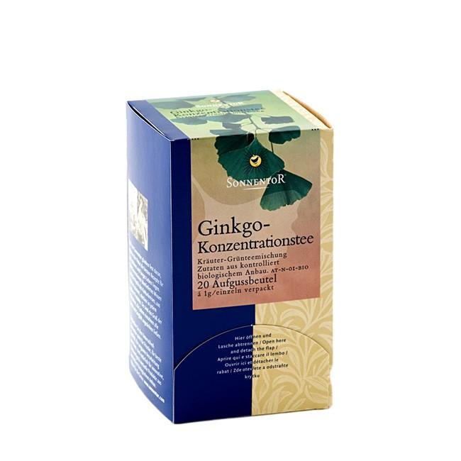 Ginkgo Konzentrationstee von Sonnentor im Beutel (20 Stück)