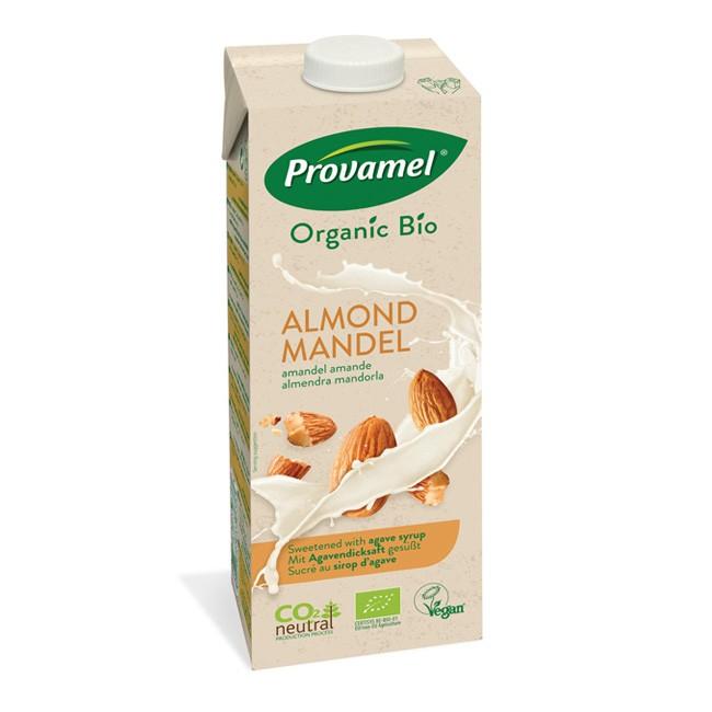 Provamel Mandelmilch gesüßt mit Agavensirup - 1l Tetrapak
