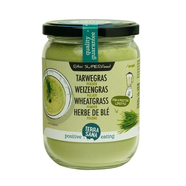 TerraSana Weizengras Pulver für Smoothie und vieles mehr130g