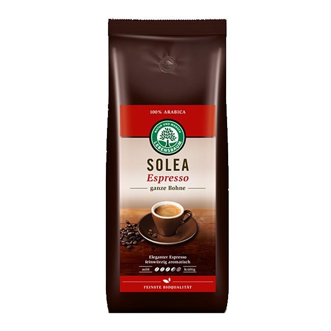Solea Espresso Bio Kaffee Arabica Bohnen von Lebensbaum (vorher Espresso emozioni) 1kg-Packung
