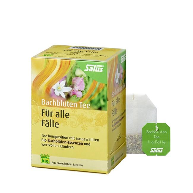 Für alle Fälle - der Bachblütentee von SALUS Bio-vegan-glutenfrei