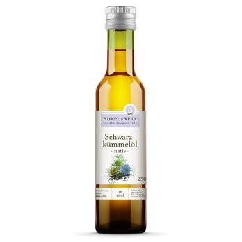 Bio Planète : Schwarzkümmelöl nativ, bio (250ml)