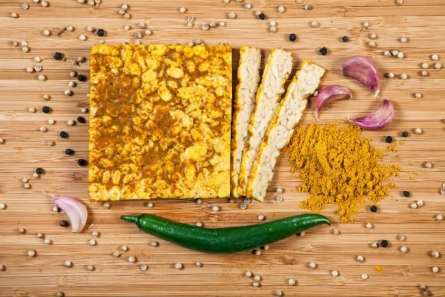 tempehmanufaktur : Soja-Tempeh Curry, bio (200g)