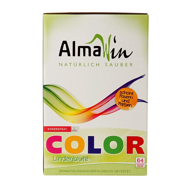 AlmaWin Color Waschpulver mit Lindenblüte 2kg