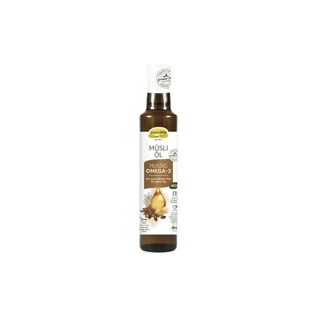 granoVita: Nussiges Muesli Öl, bio (250ml)