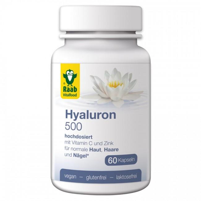 Raab : Hyaluron 500 Kapseln (60 Stk)