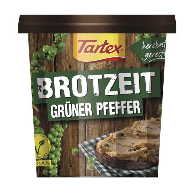 Bio Pastete mit grünem Pfeffer von Tartex (125g)