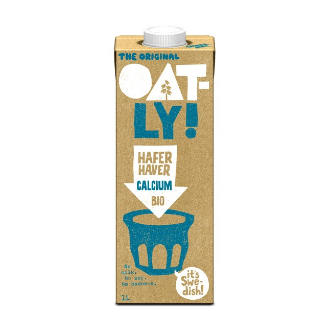 Oatly Bio Haferdrink mit Calcium 1l