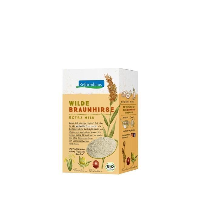 Wilde Braunhirse fein vermahlen 500g - glutenfrei - Rohkost