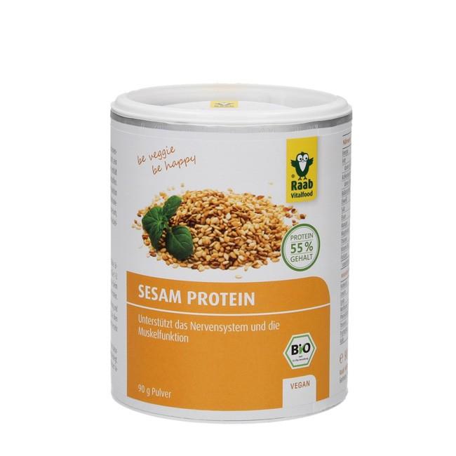 Bio Sesam Protein Pulver von Raab (110g)